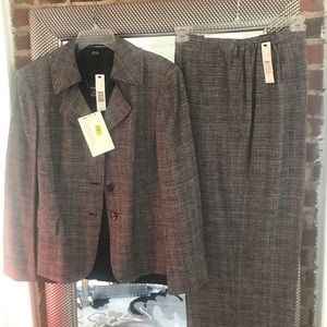 Suit 3-pc. pant suit Linda Allard/Ellen Tracy NWT
